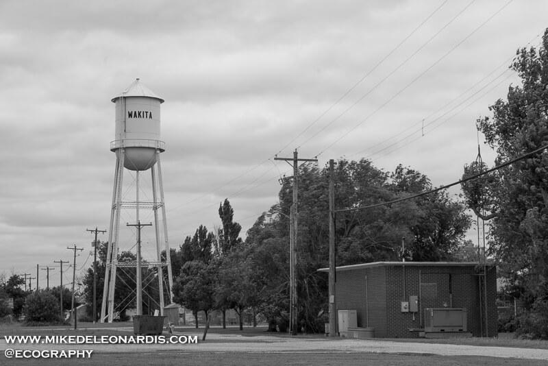 Wakita, Oklahoma. The setting for the film Twister.