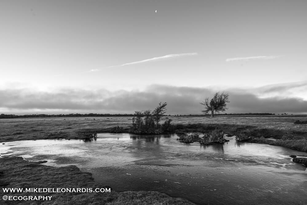 Moonrise Over Patagonia
